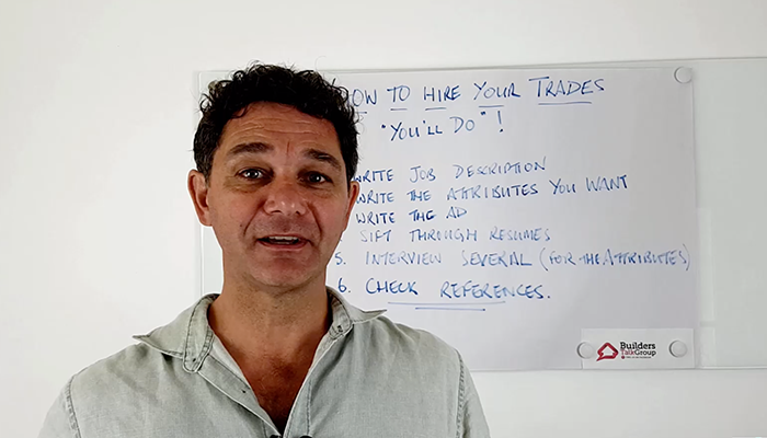 The Basics Of Hiring People For Your Trades Business