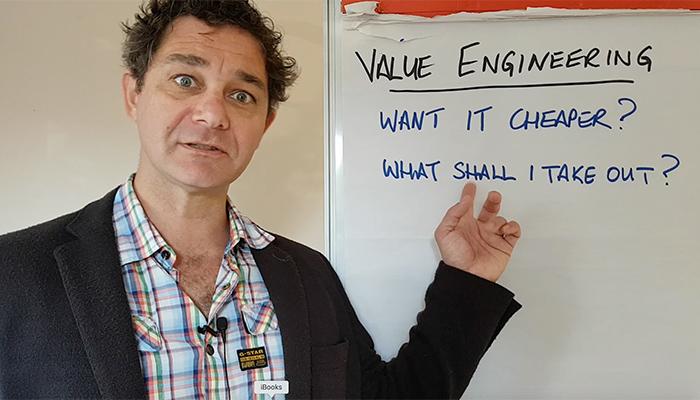 Value Engineering? WTF is it?